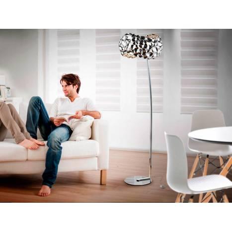 SCHULLER Narisa floor lamp 5l chrome