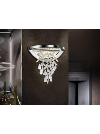 SCHULLER Bruma LED 12w wall lamp chrome