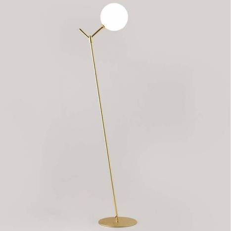 AROMAS Atom 1L floor lamp brass