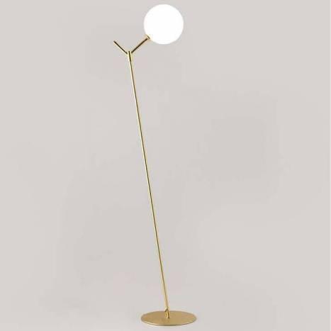 Lámpara de pie Atom 1L G9 latón - Aromas
