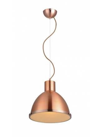 Lámpara colgante Industry 1L E27 cobre - Eskriss