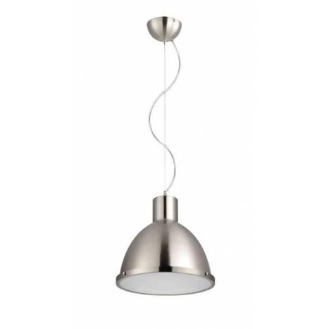 Lámpara colgante Industry 1L E27 inox - Eskriss