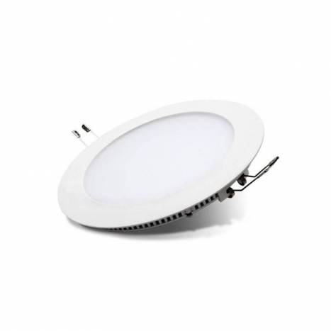 Downlight LED 8w circular blanco de Maslighting