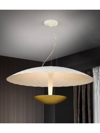 SCHULLER Laura pendant lamp white gold