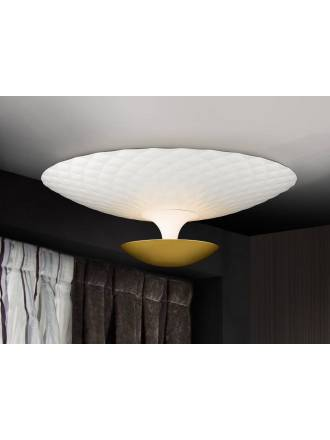 SCHULLER Laura ceiling lamp white gold