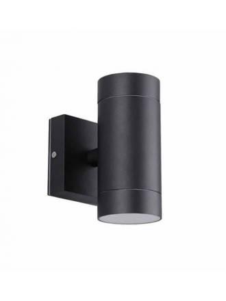 LDV Lugos 2L GU10 black wall lamp