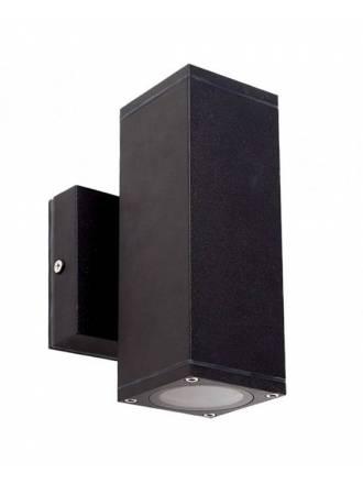 LDV Llanes 2L GU10 black wall lamp