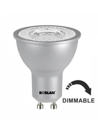 ROBLAN dimmable Pro Sky GU10 60º LED Bulb 7w