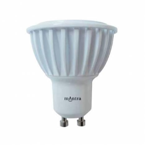 MANTRA GU10 LED Bulb 6w 220v 60º Edison