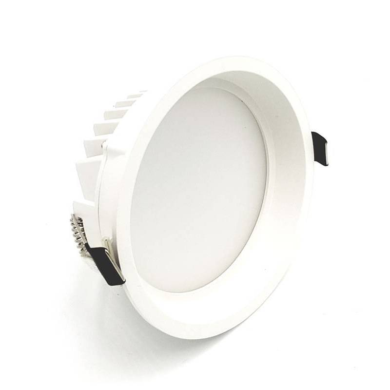 Downlight lim round led 12w blanco kohl - Downlight bano ...