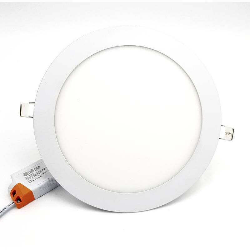 Downlight LED 18w Eco circular blanco extraplano Maslighing