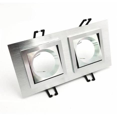 Foco empotrable Square 3067 aluminio de