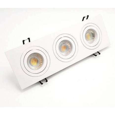 BPM Mini Katli recessed 3 light white