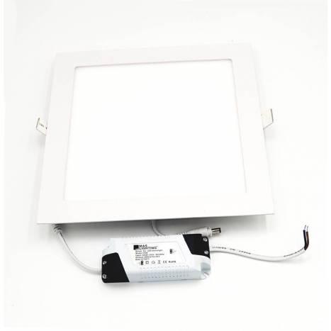 MASLIGHTING Downlight LED 25w square white