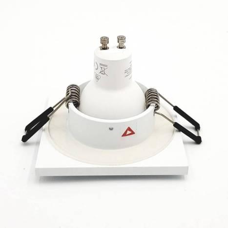 BPM 4206 IP65 square recessed light white