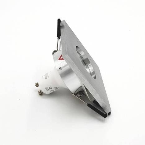 Foco empotrable 3006 IP65 cuadrado aluminio - Bpm