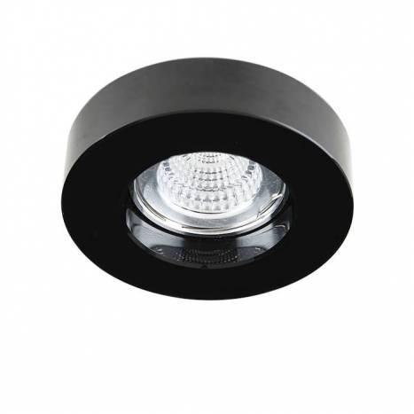 YLD SC760RBK recessed light black glass