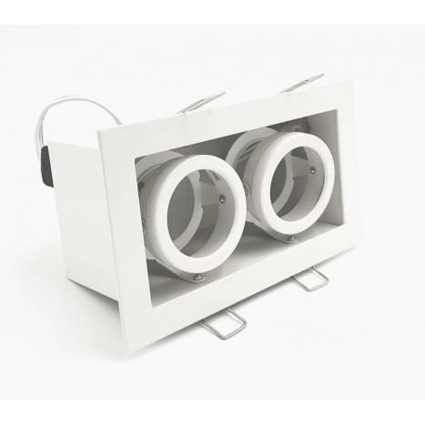 ONOK Cardan Mini 2 recessed light white aluminium