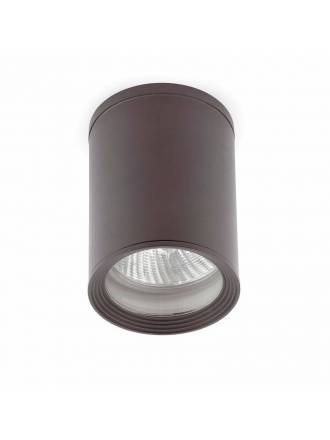 FARO Tasa 1L E27 IP44 ceiling lamp grey
