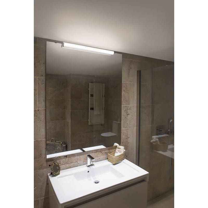 Aplique de pared edge led 8w ip44 30cm faro - Aplique pared led ...