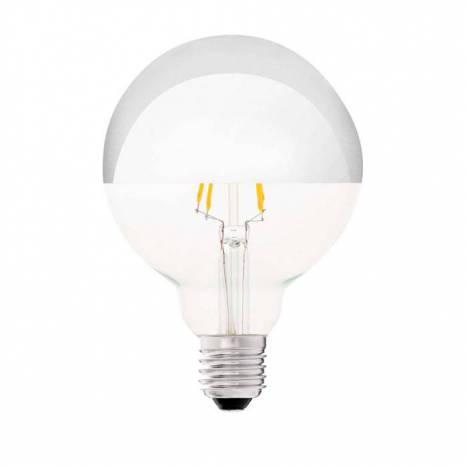 Bombilla LED 4w E27 G95 Globo espejo - Faro