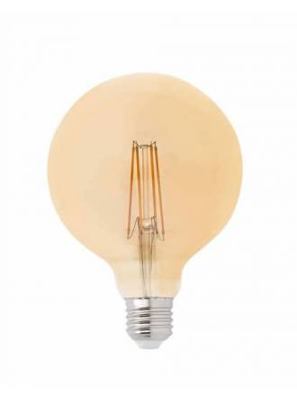 Bombilla LED 4w E27 G125 Globo vintage - Faro