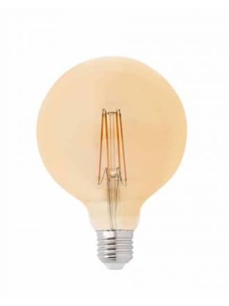 FARO Globe G125 LED 4w E27 bulb amber