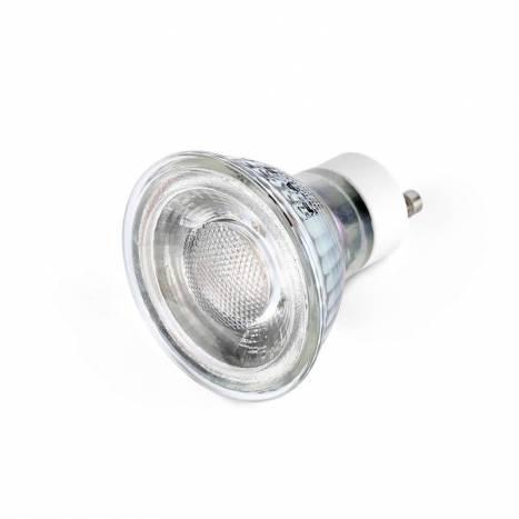 Bombilla LED 7w GU10 38º cristal - Faro