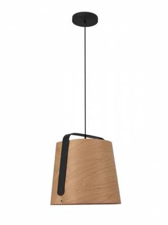 Lámpara colgante Stood 1L E27 madera - Faro