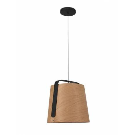 FARO Stood 1L E27 pendant lamp wood