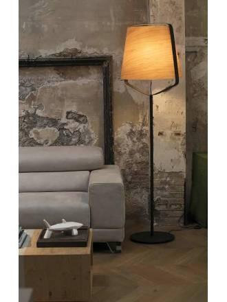 FARO Stood 1L E27 floor lamp wood