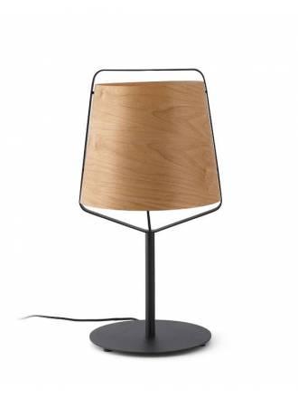 Lámpara de mesa Stood 1L E27 madera - Faro