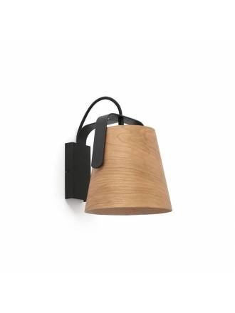 FARO Stood 1L E27 wall lamp wood