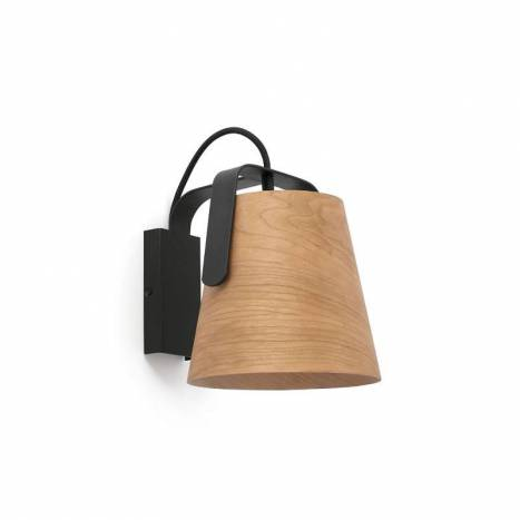 FARO Stood 1L E27 wall lamp wood