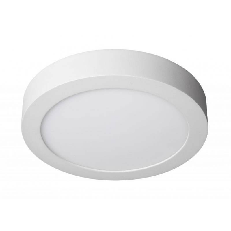 Plafon de techo led 20w redondo aluminio blanco maslighting - Plafon led techo ...