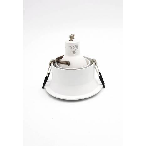 MANTRA Comfort round recessed light white