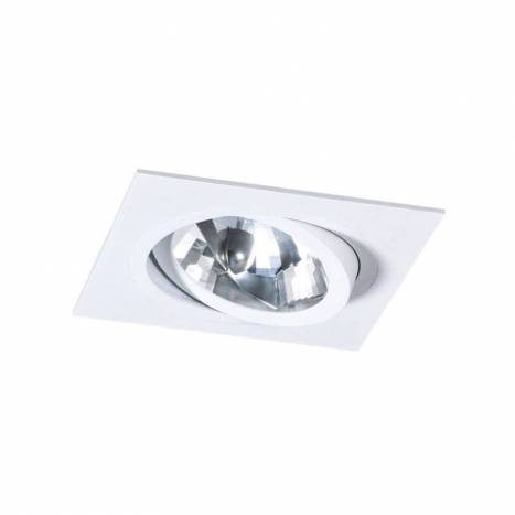 MASLIGHTING 256 square cardan recessed light white