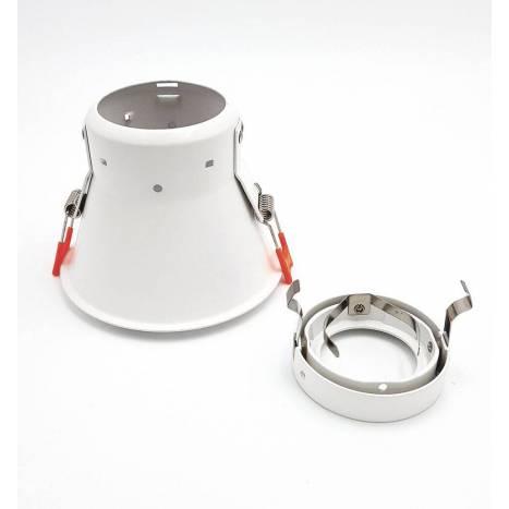 Foco empotrable Vulcano 2.1 basculante blanco - Onok