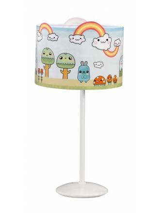 Lámpara de mesa infantil Bosque 1L E27 - Anperbar