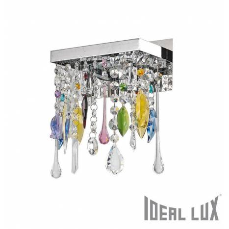IDEAL LUX Giada Color cristal wall lamp