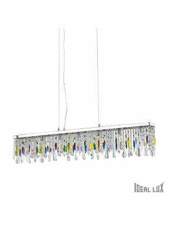 Lámpara colgante Giada Color 7L cristal - Ideal Lux