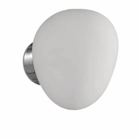 ACB Globi wall lamp 1L chrome and glass