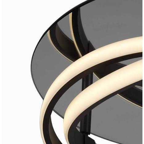 Plafón de techo Infinity LED 30w forja - Mantra