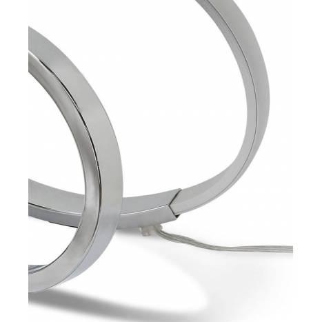 Sobremesa Infinity LED 12w plata - Mantra