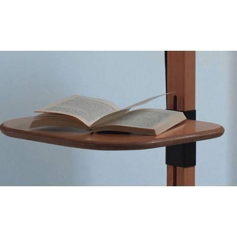 Lámpara de pie Tray pino pantalla tela - Brilliance
