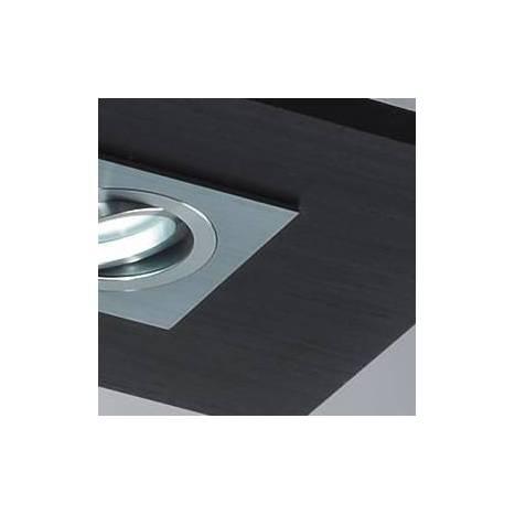 Plafón de techo Solar 4 luces LED GU10 madera - Brilliance
