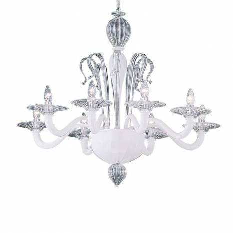 IDEAL LUX Sogno 8L crystal pendant lamp