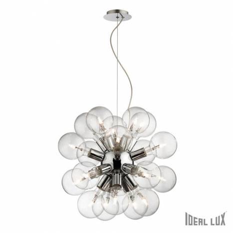 IDEAL LUX Dea 20L chrome pendant lamp