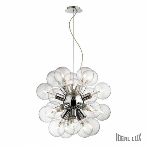 Lámpara colgante Dea 20L cromo - Ideal Lux
