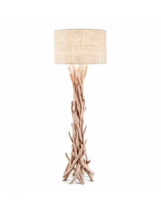 Lámpara de pie Driftwood 1L natural - Ideal Lux